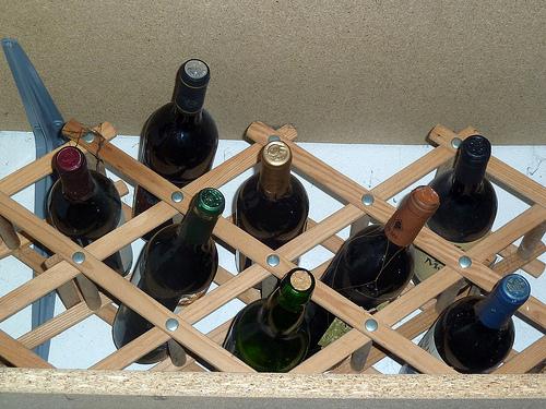 Botellero dise os de botelleros - Muebles para poner botellas de vino ...